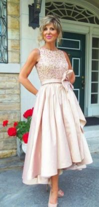 Best wedding dresses for mom of bride idea 11