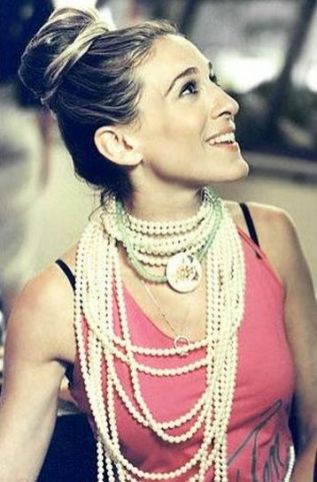 Great Pearl Necklace Outfit Ideas 70+ 3