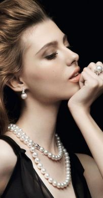Great Pearl Necklace Outfit Ideas 70+ 35