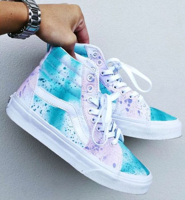 Shoes Sneakers High Tops 34