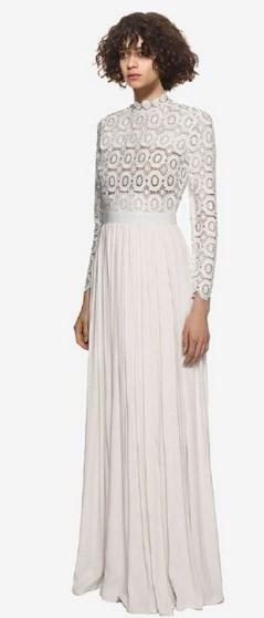 Top wedding dresses high street 53