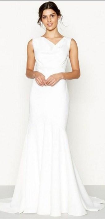 Top wedding dresses high street 57