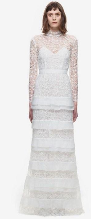 Top wedding dresses high street 72