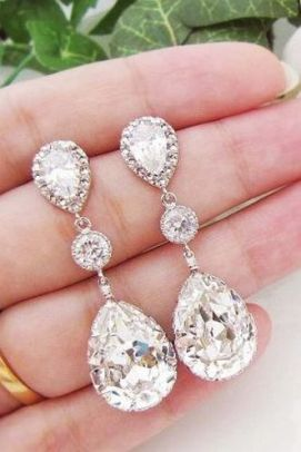 elegant dangle earrings 2