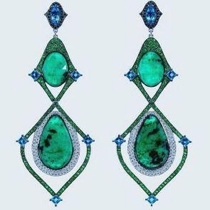 elegant dangle earrings 39