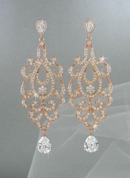 elegant dangle earrings 4
