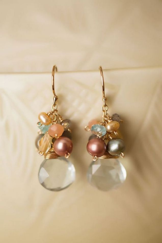 elegant dangle earrings 46