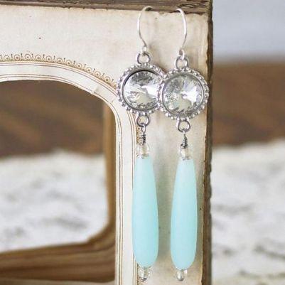 elegant dangle earrings 58