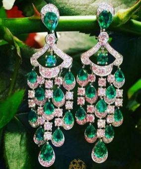 elegant dangle earrings 61