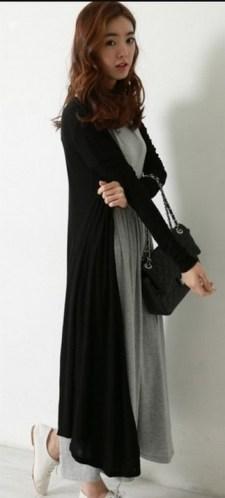 17 extra long black cardigan ideas 1