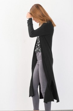 17 extra long black cardigan ideas 15