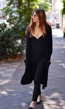 17 extra long black cardigan ideas 17