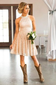 20 Best Country Western Dresses For Weddings Style Female