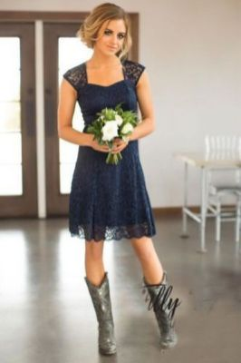 20 Best country western dresses for weddings 27