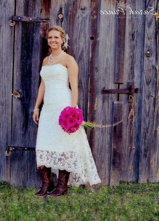 20 Best country western dresses for weddings 32