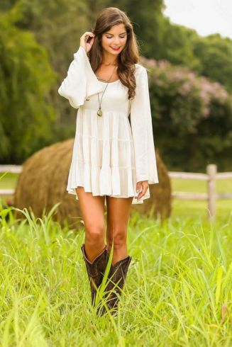 20 Best country western dresses for weddings 4