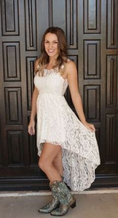 20 Best country western dresses for weddings 8