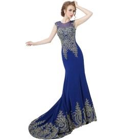 20 Elegant long prom dress sexy sweetheart mermaid party dresses 16