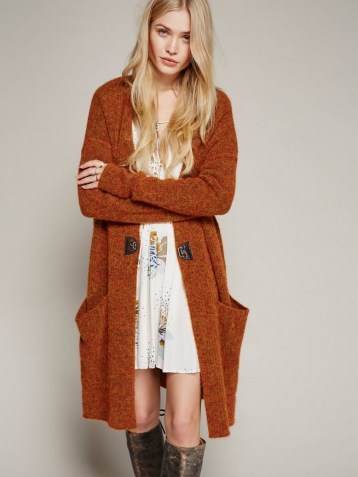 20 Long Sweater Cardigan Pocket Ideas 13