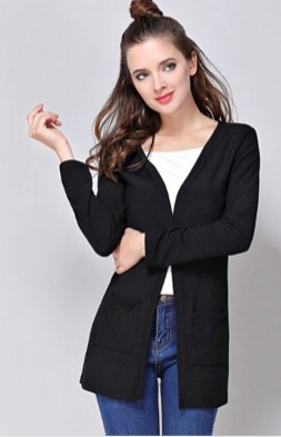 20 Long Sweater Cardigan Pocket Ideas 8