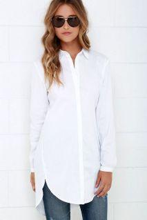 20 White Tunic Shirts for Women 1