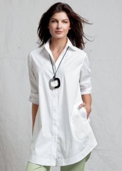 20 White Tunic Shirts for Women 2
