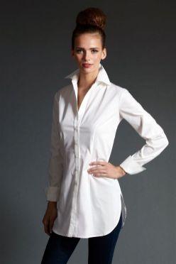 20 White Tunic Shirts for Women 4