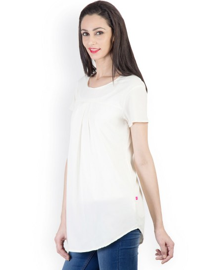 20 White Tunic Shirts for Women 6