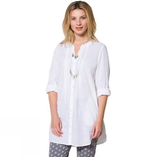 20 White Tunic Shirts for Women 7