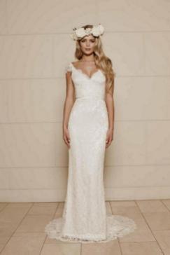 27 Simple White Long Sleeve Wedding Dresses ideas 15