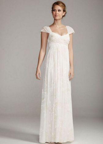 27 Simple White Long Sleeve Wedding Dresses ideas 22