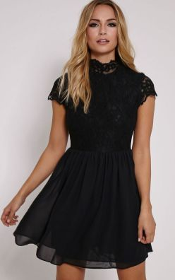 30 About ideas skater dress black That You Need to See 11