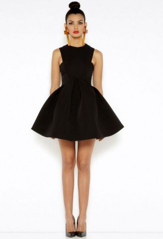 30 About ideas skater dress black That You Need to See 15