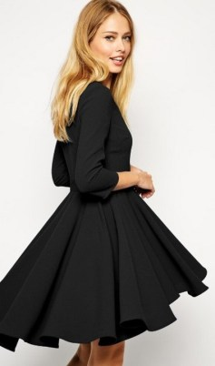 30 About ideas skater dress black That You Need to See 19