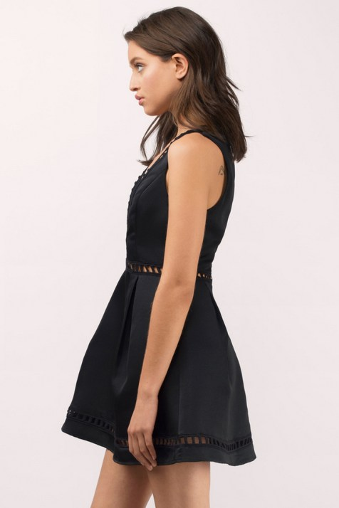 30 About ideas skater dress black That You Need to See 4