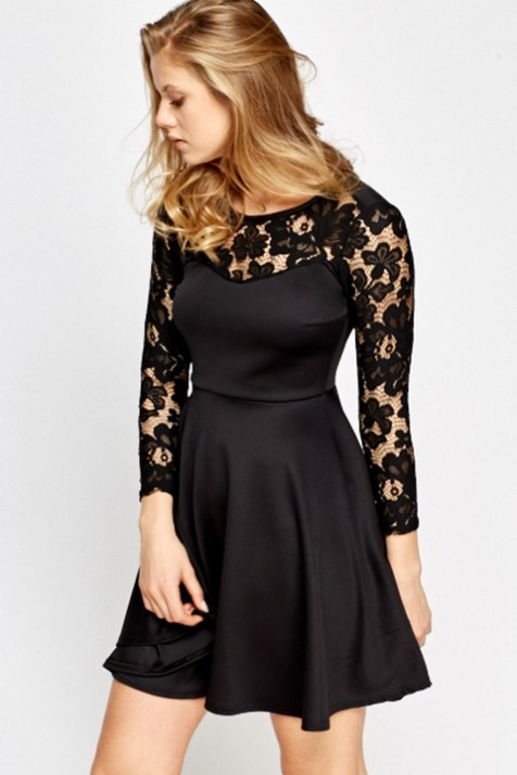 30 About ideas skater dress black That You Need to See 5