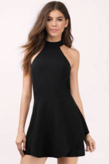 30 About ideas skater dress black That You Need to See 6