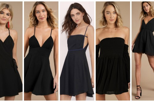 30 About ideas skater dress black That You Need to See