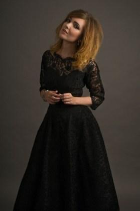 30 Black Long Sleeve Wedding Dresses ideas 14