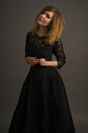 30 Black Long Sleeve Wedding Dresses ideas 14