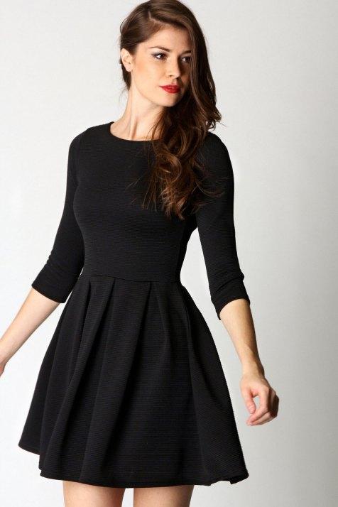30 ideas skater dress black to Follow 1