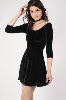 30 ideas skater dress black to Follow 17