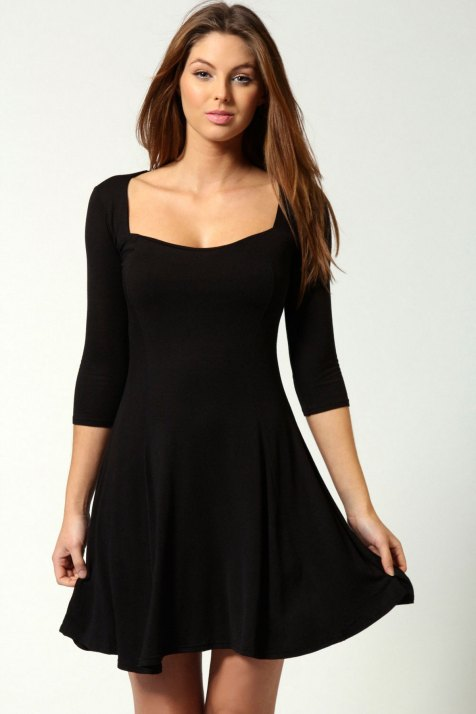 30 ideas skater dress black to Follow 2