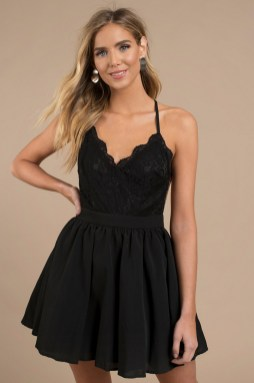 30 ideas skater dress black to Follow 23