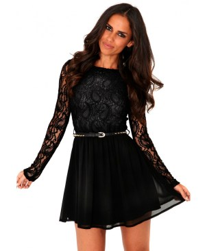 30 ideas skater dress black to Follow 4