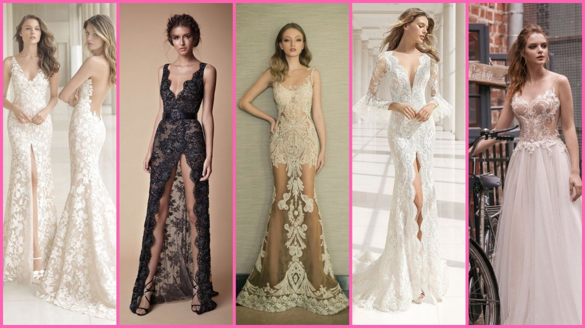 35 Embellished Wedding Gowns Ideas