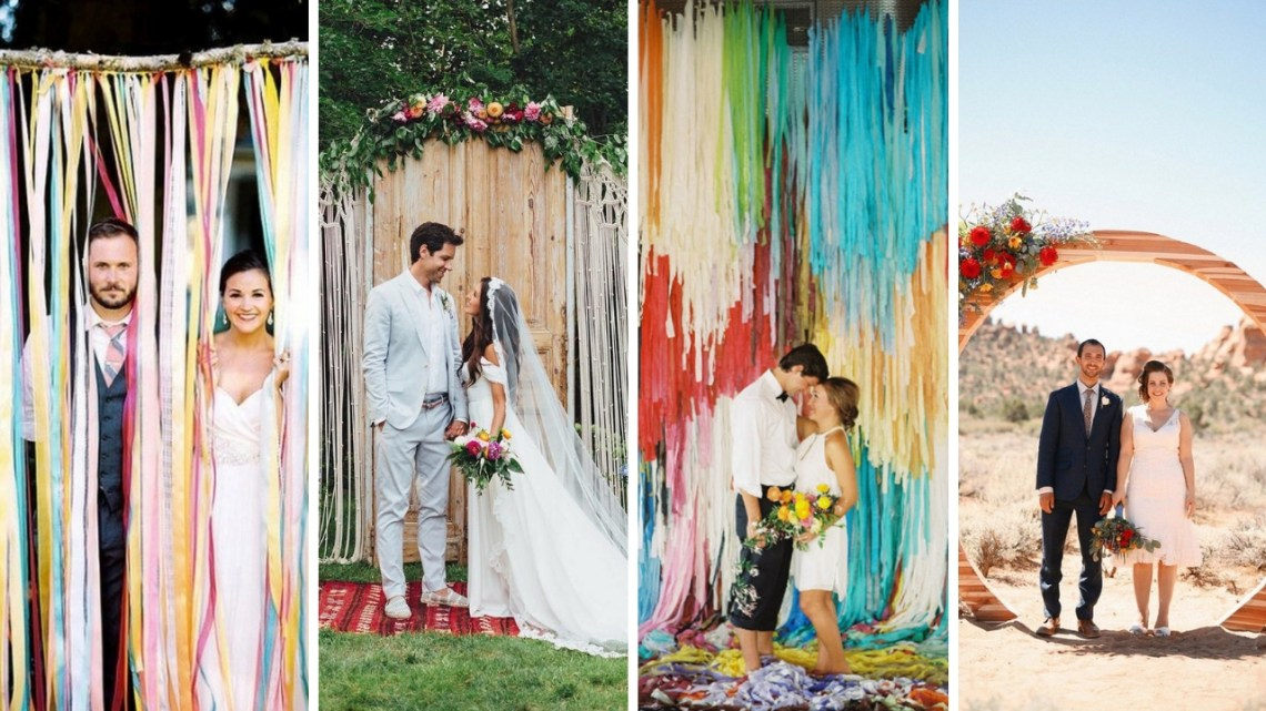 40 Creative And Fun Wedding day Reception Backdrops You Like Ideas