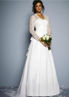 40 High Low Long Sleeve Modern Wedding Dresses Ideass 16