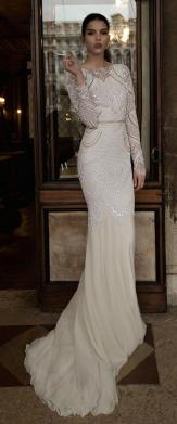 40 High Low Long Sleeve Modern Wedding Dresses Ideass 20