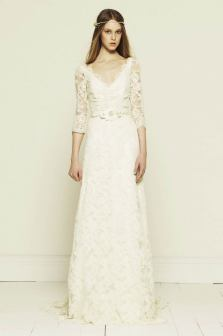 40 High Low Long Sleeve Modern Wedding Dresses Ideass 22